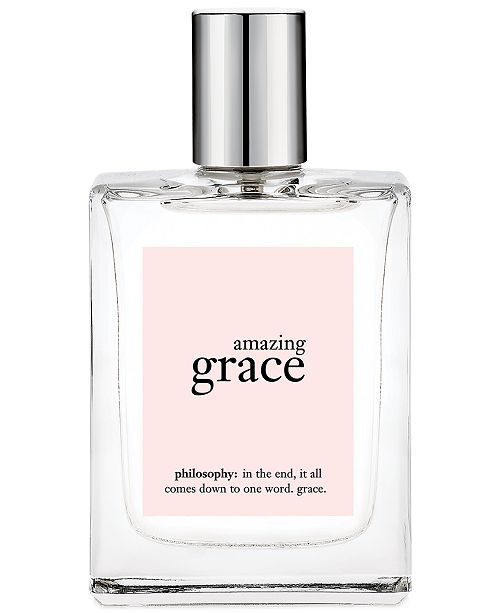 philosophy amazing grace spray fragrance, 4 oz