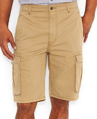 Levi's Ace Cargo Shorts, British Khaki - Shorts - Men - Macy's