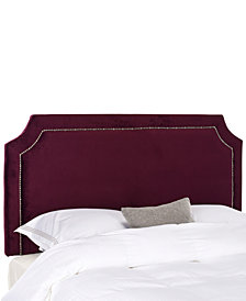 Salina Upholstered Queen Headboard, Quick Ship
