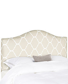 Leela Upholstered Queen Headboard, Quick Ship