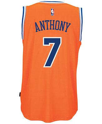 1947cdebc adidas Men s Carmelo Anthony New York Knicks Swingman Jersey - Sports Fan  Shop By Lids - Men - Macy s