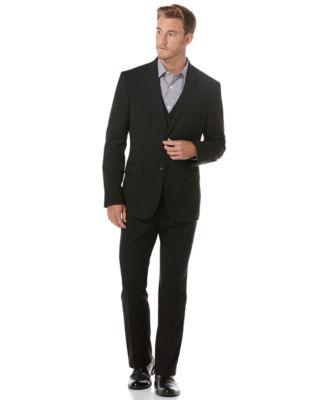 Perry Ellis Men's EDV Slim Fit Suit Jacket - Suits & Suit ...