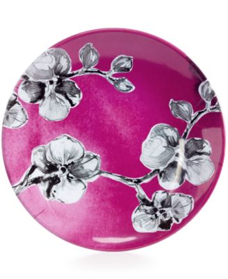 MADHOUSE by Black Orchid Melamine Luncheon Plate