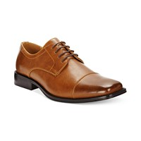 Alfani Adam Cap Toe Oxford Mens Shoes (Tan)