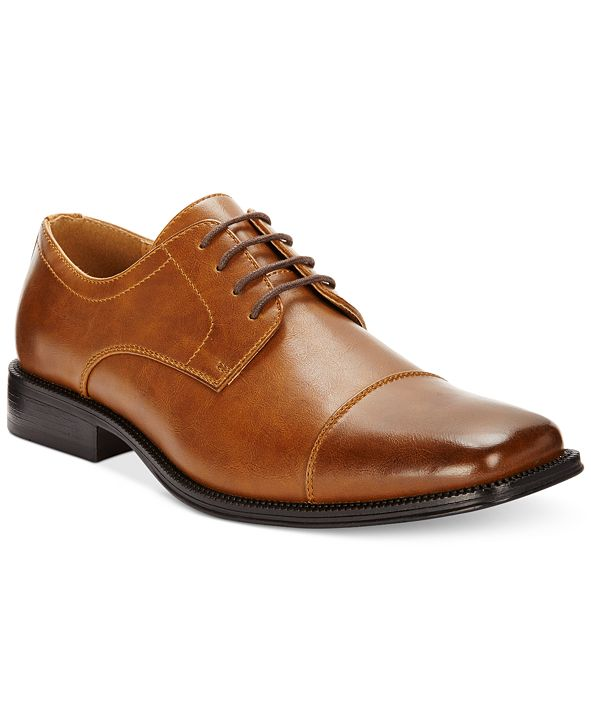 Alfani Men's Adam Cap Toe Oxford, Created for Macy's