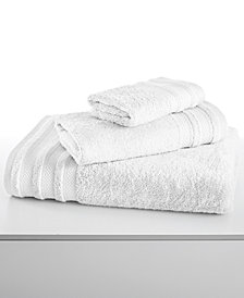 "CLOSEOUT! Charter Club Classic Cotton 13"" Square Washcloth, Created for Macy's"