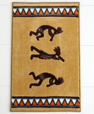 "Kokopelli 20"" x 30"" Bath Rug"