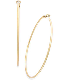 "Thalia Sodi Large 2"" Thin Hoop Earrings"