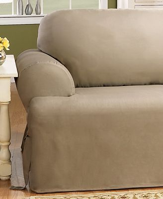 Sure Fit Duck T Cushion Slipcover Collection Slipcovers Home
