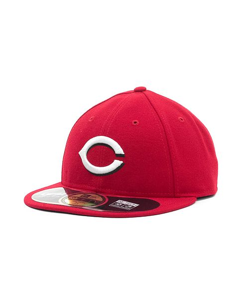 premium selection 7f84b 2bb06 Cincinnati Reds Low Crown AC Performance 59FIFTY Fitted Cap