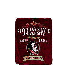 Northwest Company Florida State Seminoles Plush Team Spirit Throw Blanket