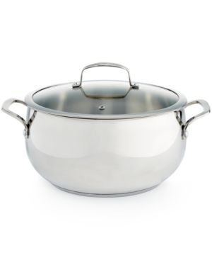 Belgique Stainless Steel 7.5-Qt. Dutch Oven, Created for Macy's 1871695