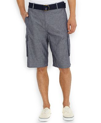 Levi's Snap Cargo Shorts, Midnight Chambray - Shorts - Men - Macy's