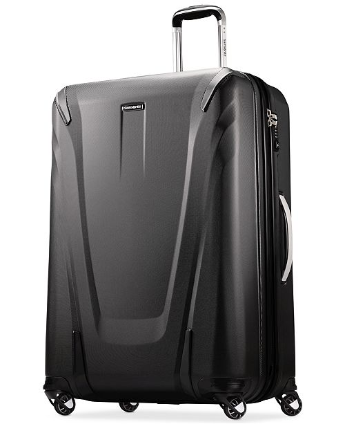 """Samsonite CLOSEOUT! 60% OFF Silhouette Sphere 2 Hardside 30"""" Spinner Suitcase, Available in Ruby Red, Created for Macy's"""