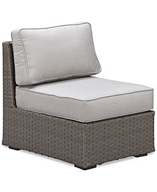 CLOSEOUT! South Harbor Outdoor Armless Unit, Created for Macy's