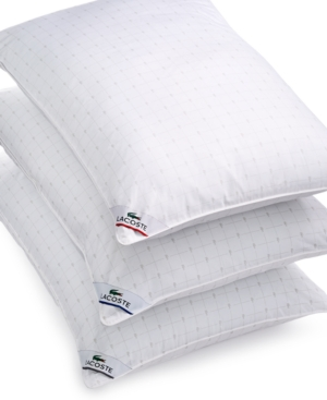 Closeout! Lacoste Home Extra Firm Support Down Alternative King Pillow, Hypoallergenic