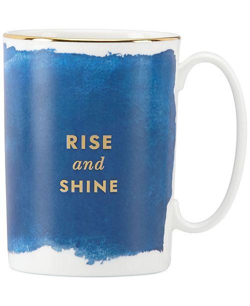 Posy Court Blue Mug
