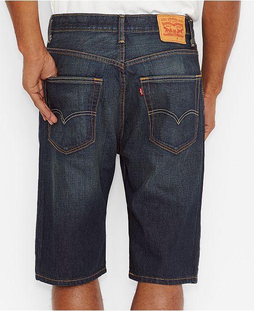 01199a06 Levi's Men's 569 Loose-Fit Shorts & Reviews - Shorts - Men - Macy's