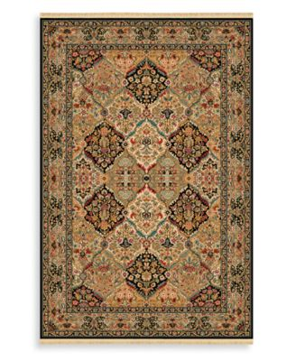 CLOSEOUT! Area Rug, Original CLOSEOUT! Karastan 724 Empress Kirman Black 8' 8