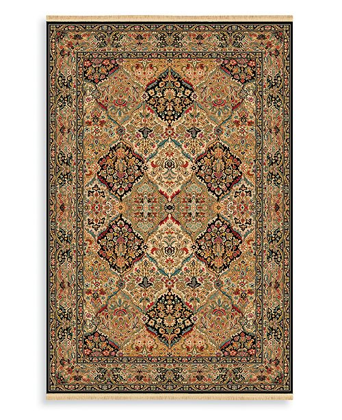 "Karastan CLOSEOUT! Area Rug, Original CLOSEOUT! Karastan 724 Empress Kirman Black 8' 8"" x 10' 6"""