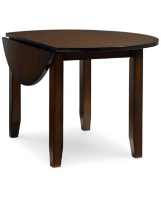 Branton Round Drop Leaf Table