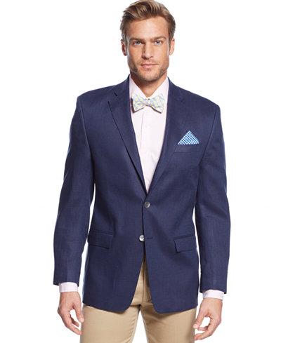 Lauren Ralph Lauren Solid Linen Sport Coat - Blazers & Sport Coats ...