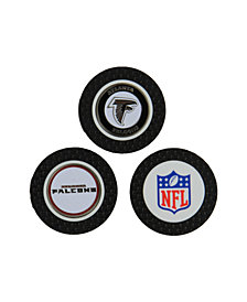 Team Golf Atlanta Falcons 3-Pack Poker Chip Golf Markers