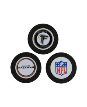 Team Golf Atlanta Falcons 3-Pack Poker Chip Golf Markers