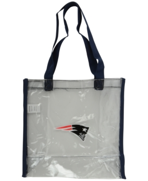New England Patriots Clear Tote Bag