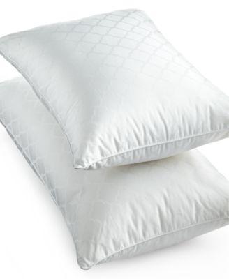martha stewart collection dream comfort sleep cloud medium density down alternative pillows created for macyu0027s
