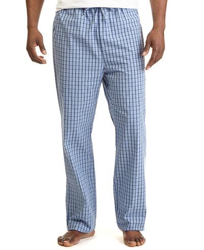 Nautica Men's Woven Plaid Pajama Pants - Pajamas, Lounge ...