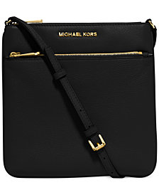 MICHAEL Michael Kors Riley Pebble Leather Crossbody