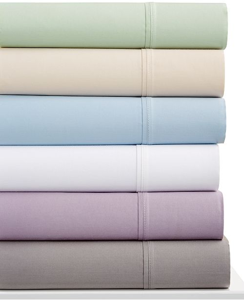 Sunham CLOSEOUT! Ashford Queen 4-pc Sheet Set, 530 Thread Count 100% Cotton