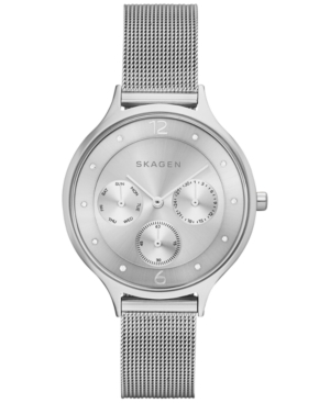 Skagen Women's Anita Stainless Steel Mesh Bracelet Watch 36mm SKW2312