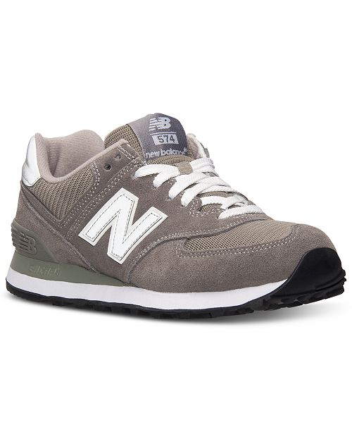 best service ecc1d d94ef New Balance Women's 574 Core Casual Sneakers from Finish ...