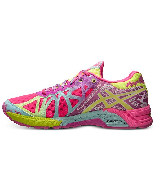 best service 13055 bc654 ... Asics Women s Gel Noosa Tri 9 Ad Shoe Neon Pink Lime Green ...