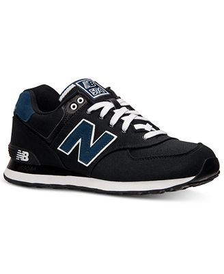 new balance s 574 pique polo casual sneakers from