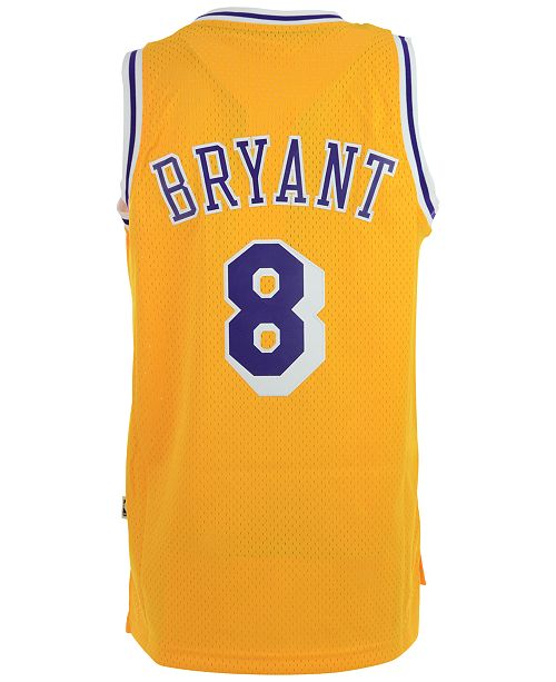 f2d49964fe26 ... adidas Men s Kobe Bryant Los Angeles Lakers Retired Player Swingman  Jersey ...