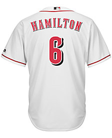 Majestic Billy Hamilton Cincinnati Reds Replica Jersey