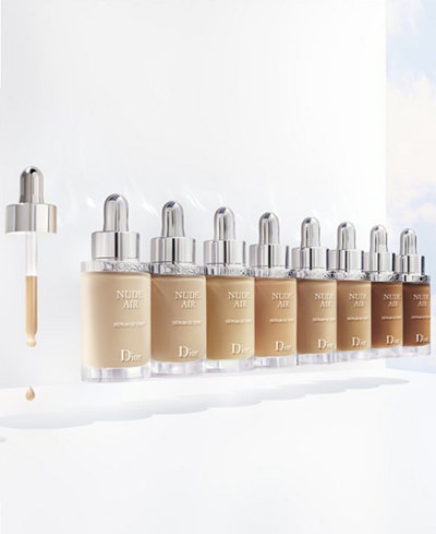 dior diorskin nude air serum nude healthy glow ultra fluid serum foundation shop all brands. Black Bedroom Furniture Sets. Home Design Ideas