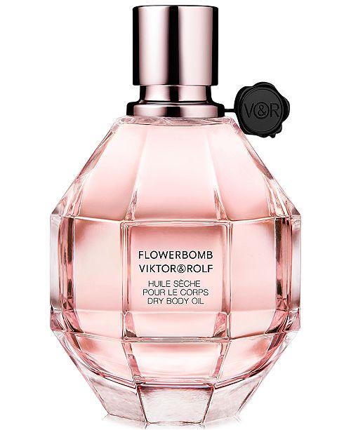 Viktor & Rolf Flowerbomb Body Oil, 3.3 oz