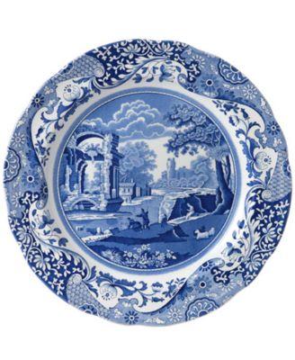 """""""Blue Italian"""" Salad Plate"""