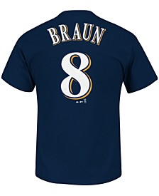 Men's Ryan Braun Milwaukee Brewers Player T-Shirt