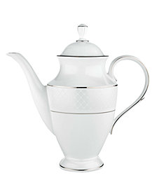 Lenox Dinnerware, Venetian Lace Coffee Pot
