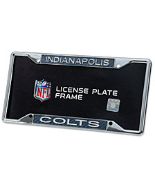 Stockdale Indianapolis Colts Carbon License Plate Frame