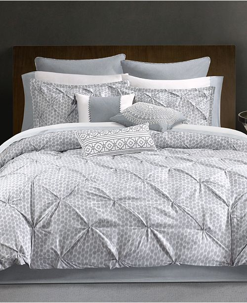 CLOSEOUT! Dot Kat Bedding Collection, Thread Count 300 100% Cotton
