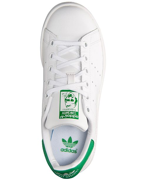 info for 2f78c 7dd14 ... adidas Big Boys  Stan Smith Casual Sneakers from Finish Line ...
