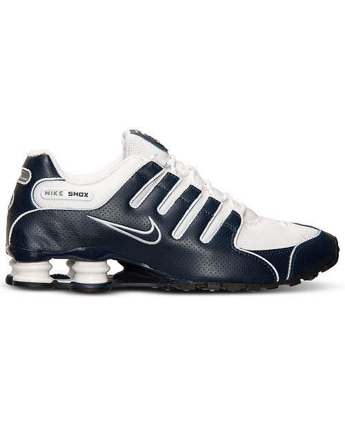 pick up 44237 36057 Nike. Men s Shox NZ Running Sneakers from Finish Line