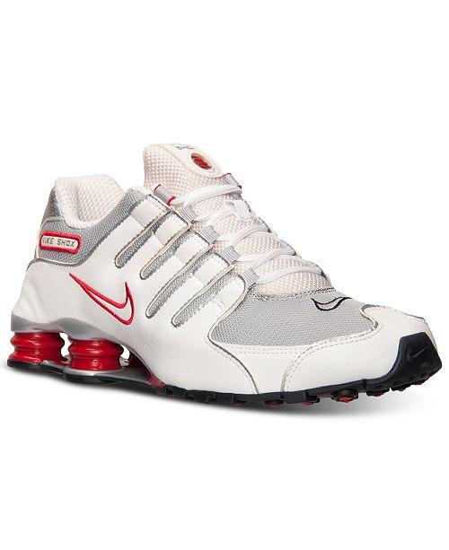 size 40 0cafa 0080c Nike Men's Shox NZ Running Sneakers from Finish Line ...