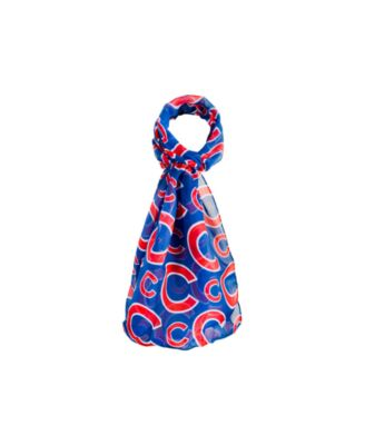 Chicago Cubs All Over Logo Infinity Scarf